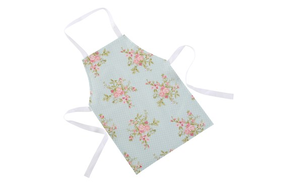 Pretty, Wipe Clean Apron - Pastel Roses