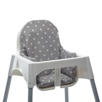 Ikea Antilop High Chair Cushion - fully wipe clean.  Well padded for baby's comfort