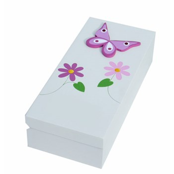 PERSONALISED BUTTERFLY TRINKET BOX BP03