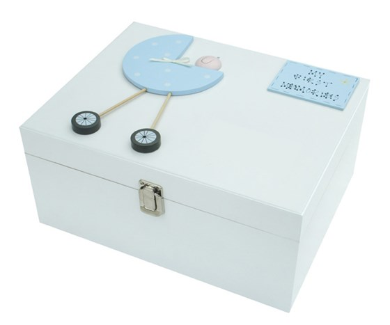 BABY BOY LARGE KEEPSAKE BOX BL14