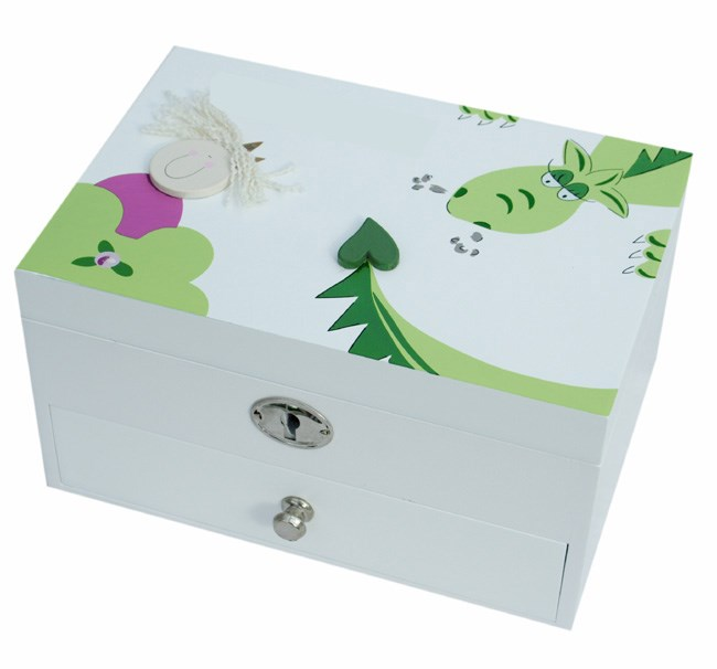 PRINCESS AND DRAGON JEWELLERY BOX BJ01