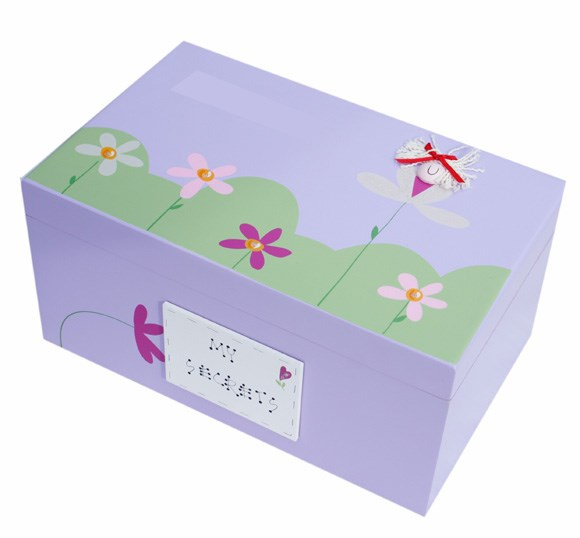 THUMBELINA WOODEN KEEPSAKE BOX BS02