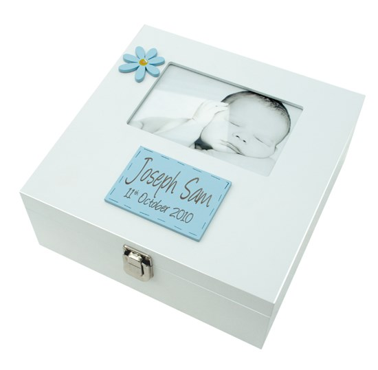 MEMORY BOX BOY WITH 6X4 PHOTO FRAME BF01
