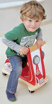 Jamm Scoot Racing Red - 12 months +