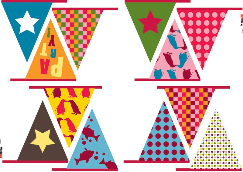 KidsLAB Party Wall Stickers