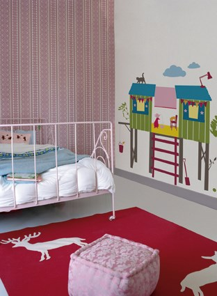 KidsLAB Tree House Wall Stickers