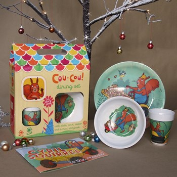 Cyril Squirrel Gift Set
