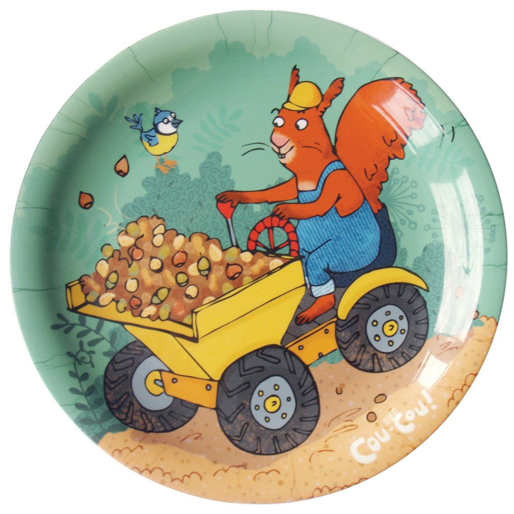 Cyril Squirrel Plate