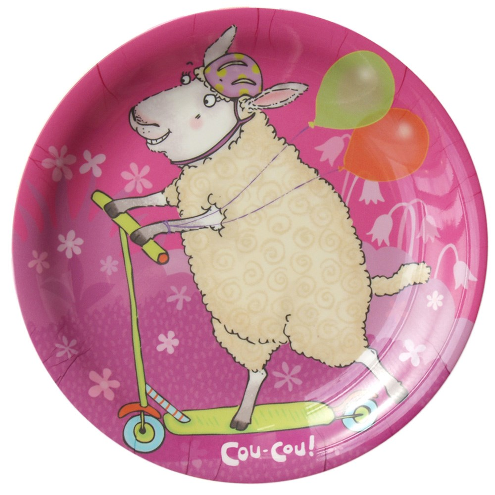 Sophie Sheep Plate