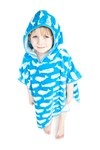 Super Soft And Thick Kids Hooded Poncho Towel For Boys And Girls Aged 6-10 years Large (70cm)
