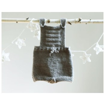 Hand knitted Baby Romper
