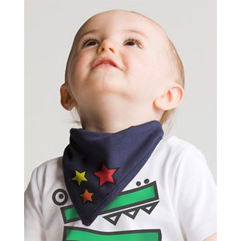 Weasel and Stoat Stars Bib