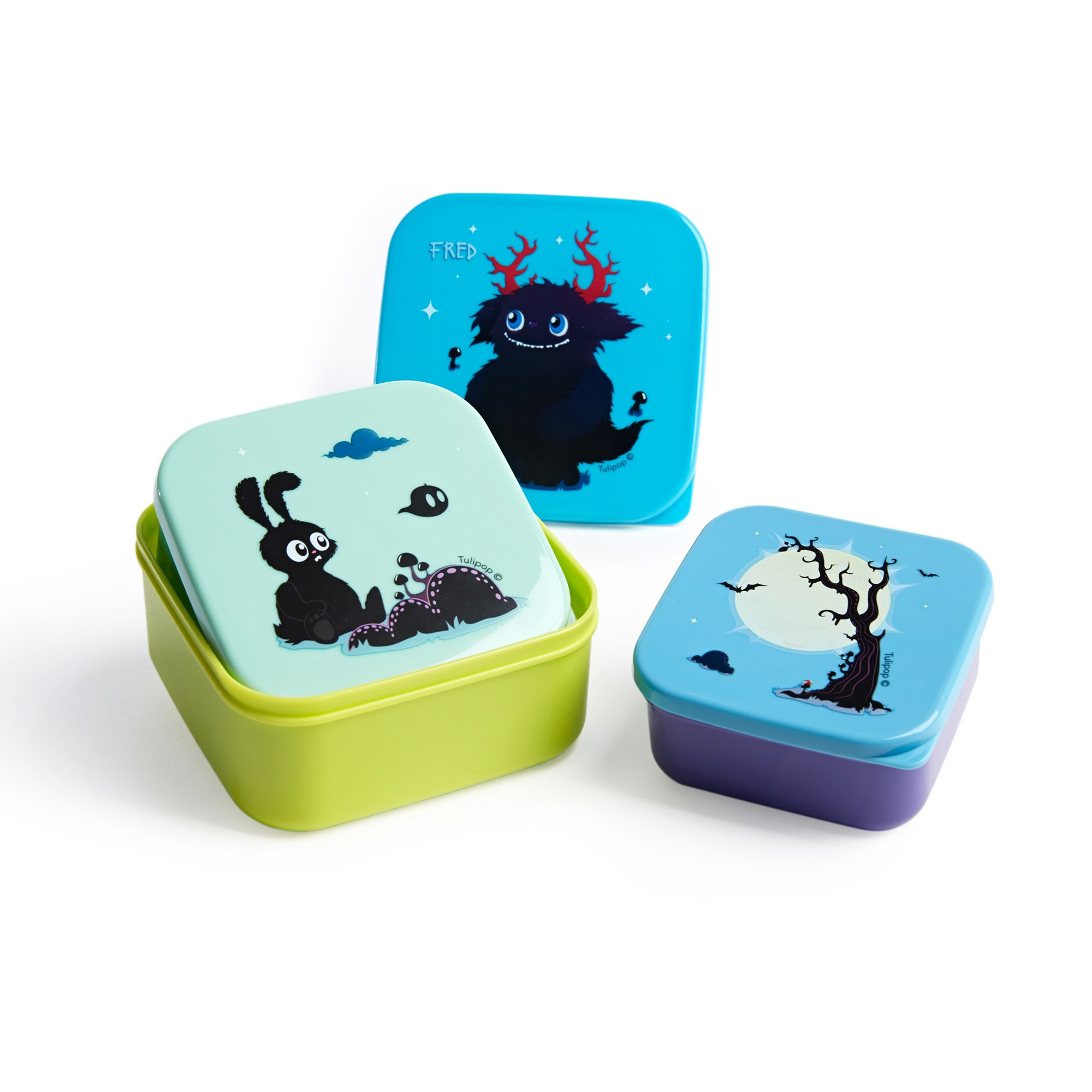 Fred lunch box set