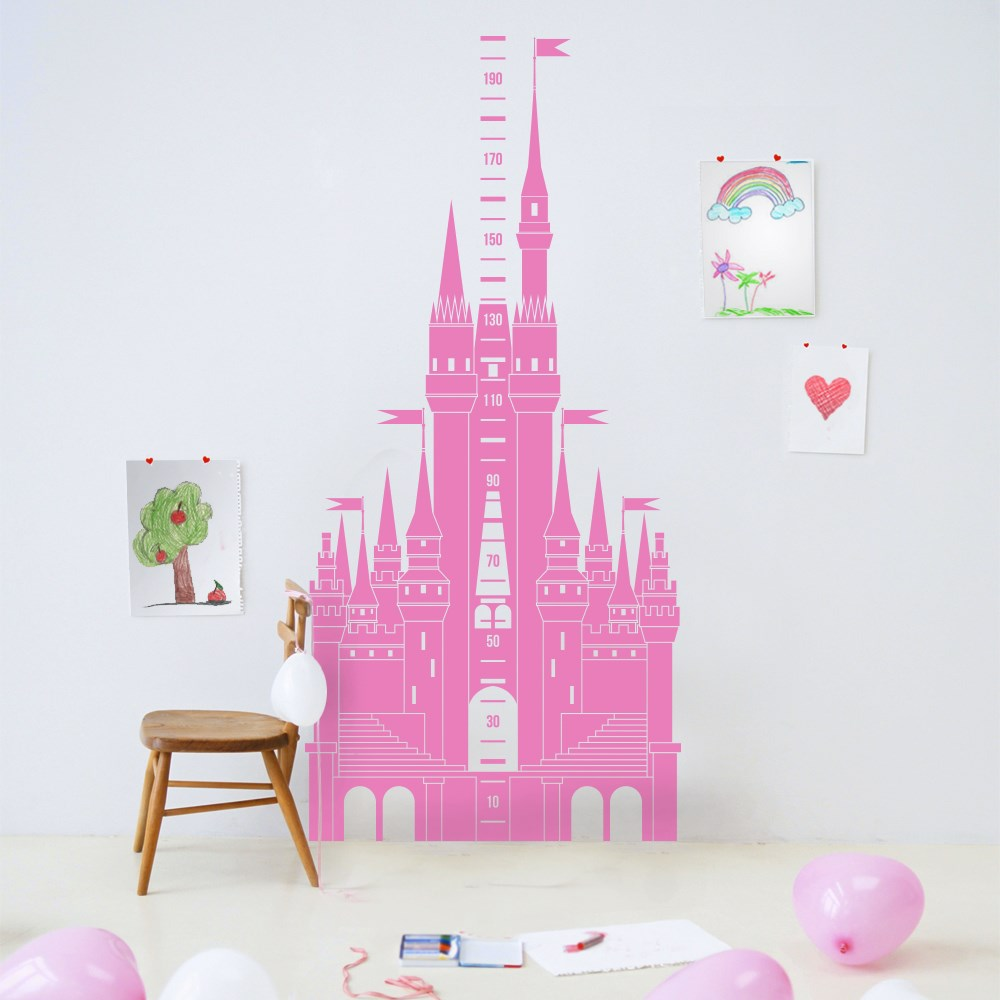 Castle Height Chart  (22 colours available)