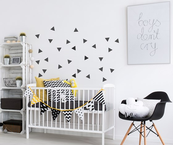 Triangle Wall stickers - 22 colours available