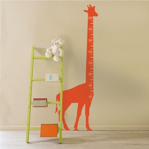 Giraffe Height Chart (22 colours available)