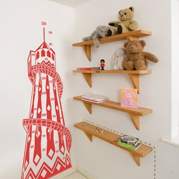 Helter Skelter Height Chart (22 colours available)