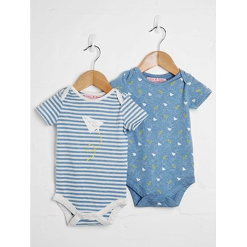 Boys 2 Pack Bodysuit