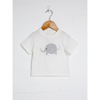 Unisex Short Sleeve Elephant Tee