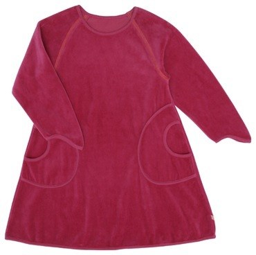 Katvig Velour Pocket Dress
