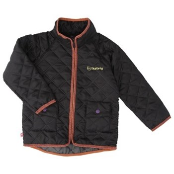Katvig Thermal Jacket Black/Coral