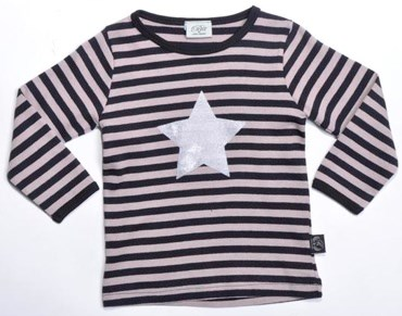 PETIT BY SOFIE SCHNOOR STRIPED STAR TOP