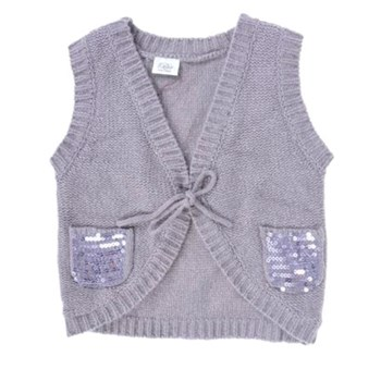 PETIT BY SOFIE SCHNOOR KNIT STAR SHRUG