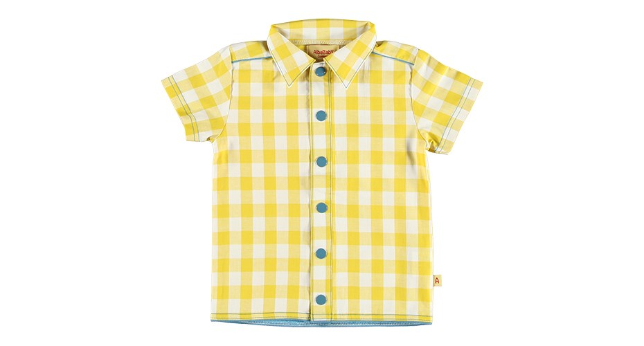 Albakid Yellow Shirt Size 4-5 years