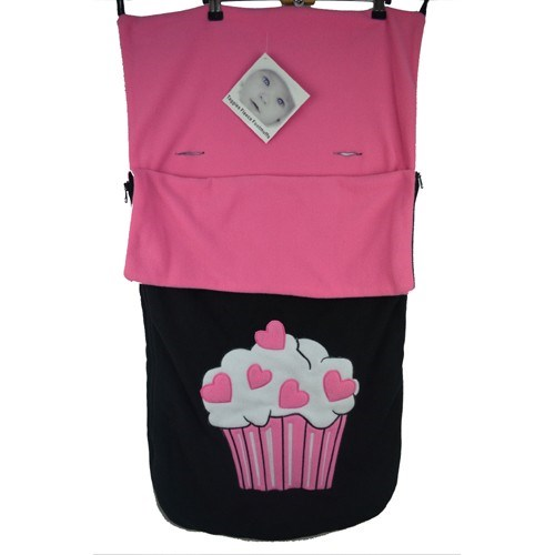 BUGGY SNUGGLE UNIVERSAL FOOTMUFF /COSY TOES CUPCAKE
