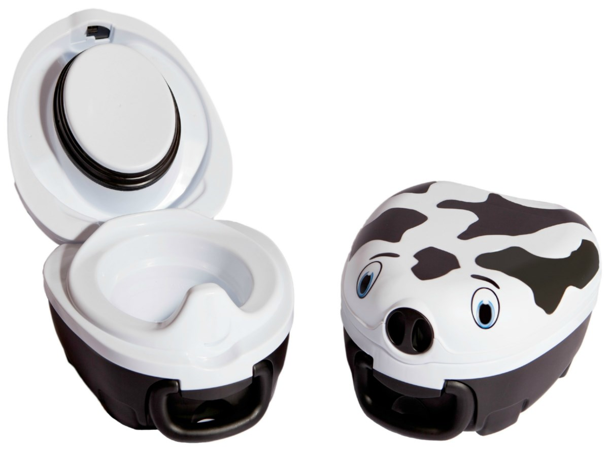 NEW DESIGN My Carry Potty Cow Childs Portable Potty