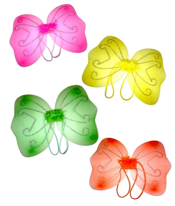 Girls Small Baby Fairy/Butterfly Wings For Children Fancy Dress UP Party
