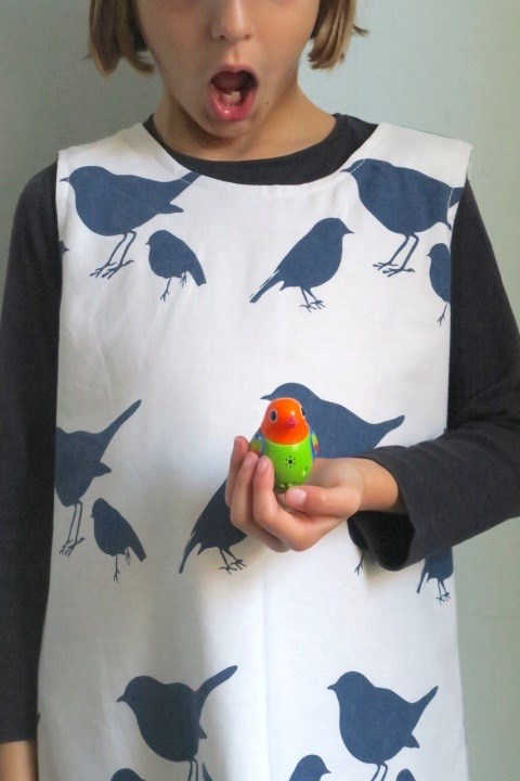 SALE Little Bird Dress Age 5-6