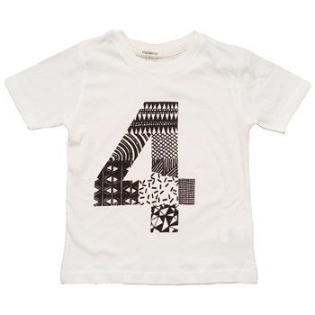 Four To The Floor - Doodle by Numbers 4 T-Shirt (Black or White available)