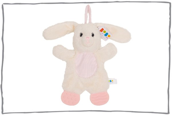 Betty bunny teether