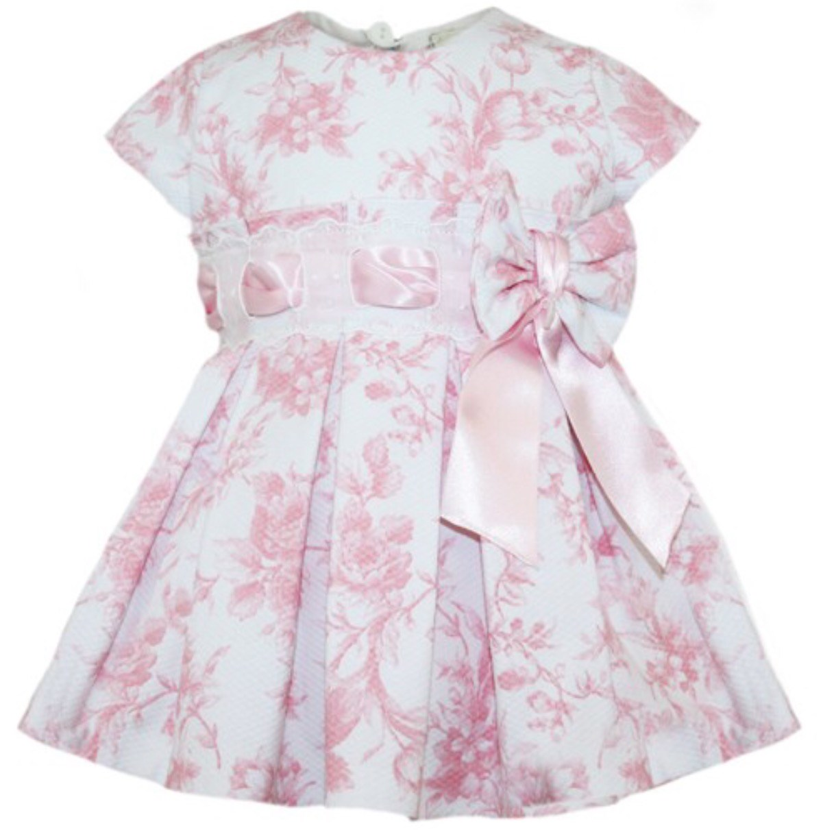 Abella pink and white dress with matching pants