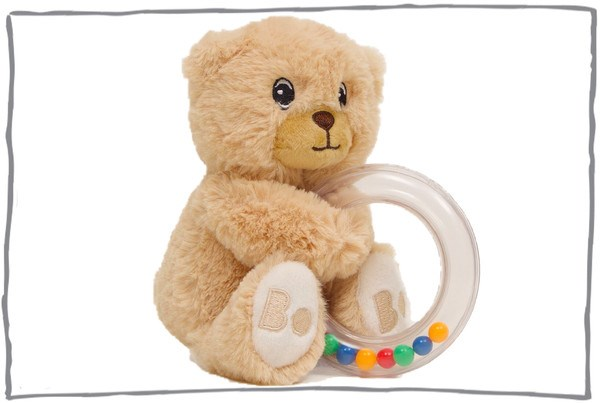 Bobo rattle Bobby Bear