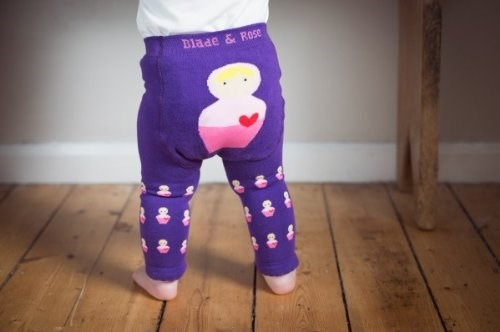 Blade and Rose Babushka leggings pink, lilac and purple