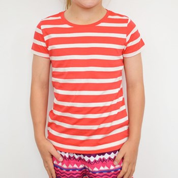 Original Red/White Striped Tee