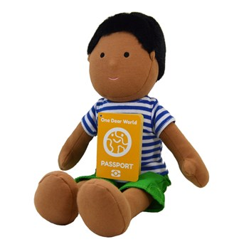 Indian Boy Doll - PARTH