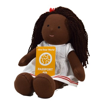 African Girl Doll - HOPE