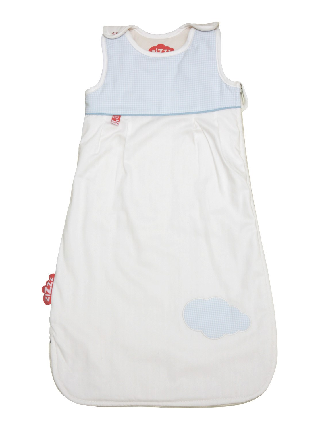 Baby sleeping bag Vichy Blue 0-6 Months (70cm)