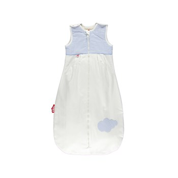 Baby sleeping bag Vichy Blue 6-24 Months (90 cm)