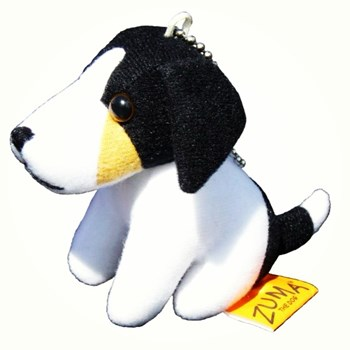 Zuma the Dog Stuffed Key ring