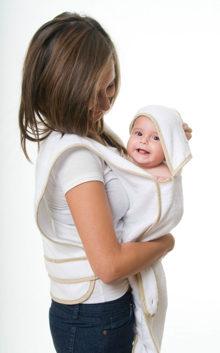 Hooded Apron Baby Towel