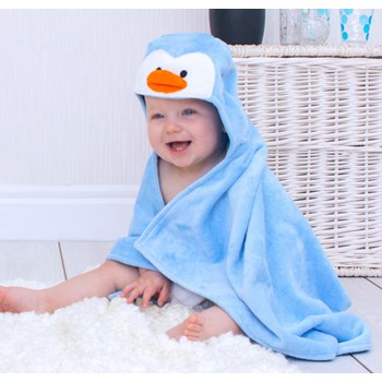 Penguin Baby Towel