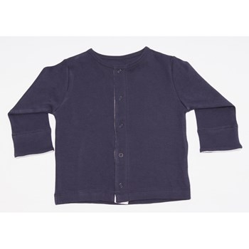 Long Sleeve Cardigan - Navy