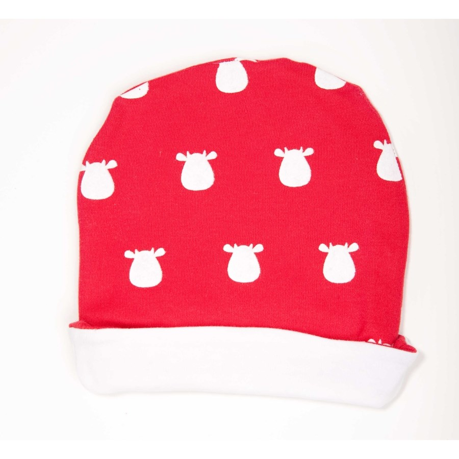 Red Hat - White Solid Cow