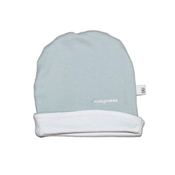 Blue Hat - Embroidered