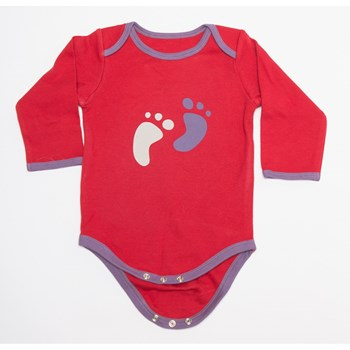 Long Sleeve Lap Shoulder Baby Body suit