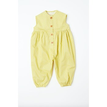 summer pantaloon yellow rain drop